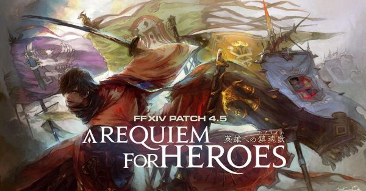 Final Fantasy XIV's Patch 4 5 Hits Early January