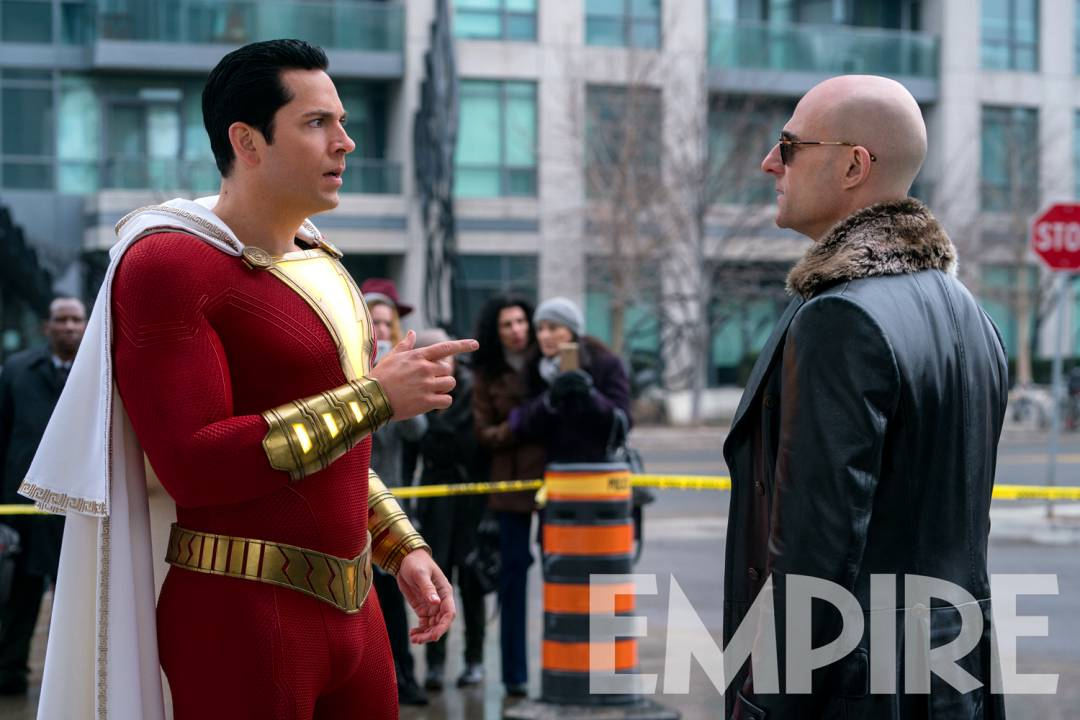 New Look At Doctor Sivana In A New Image From Shazam