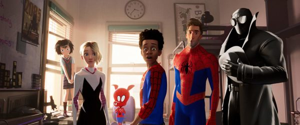 Spider-Ham and his amazing friends