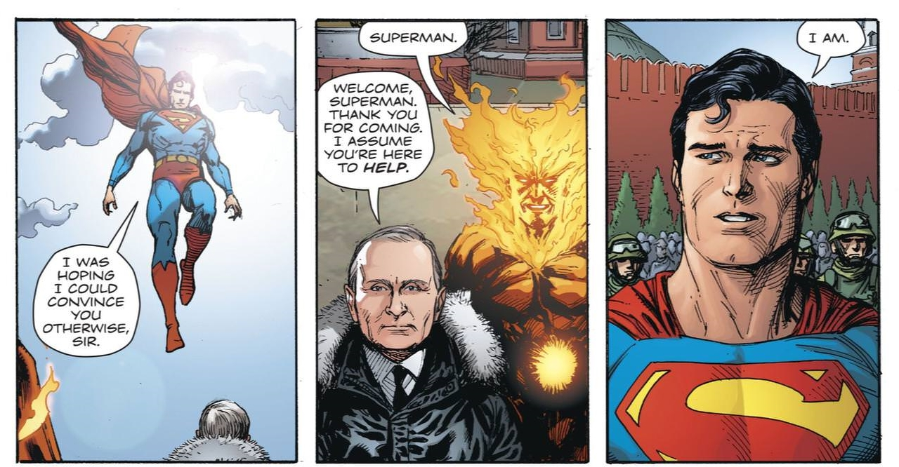 Why Did Dc Have To Clear Putin S Appearance Anyway