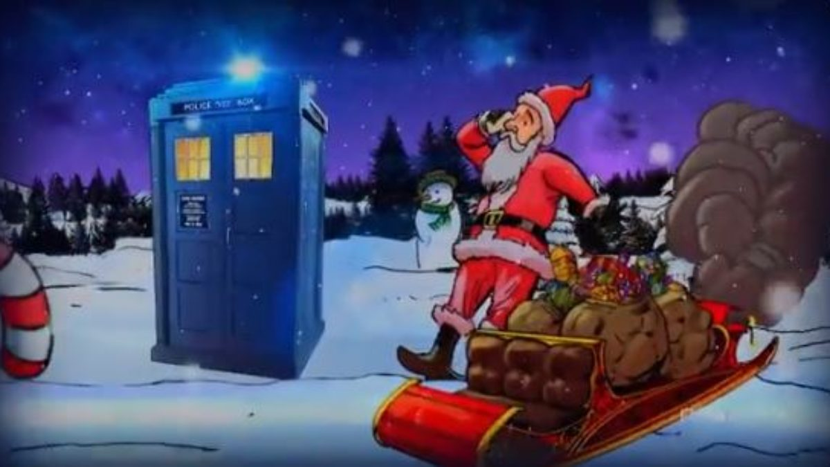 Doctor Who Christmas.Bbc Releases Surprise 2018 Doctor Who Christmas Special On