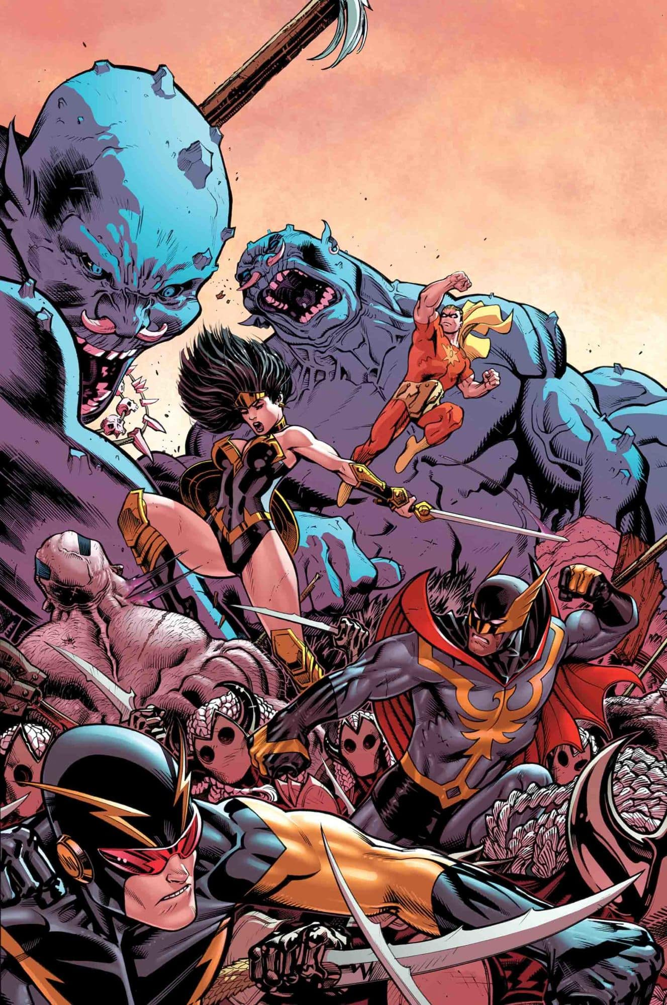 Marvel, 2019 Tony Stark Iron Man #11 Asgardian Variant NM