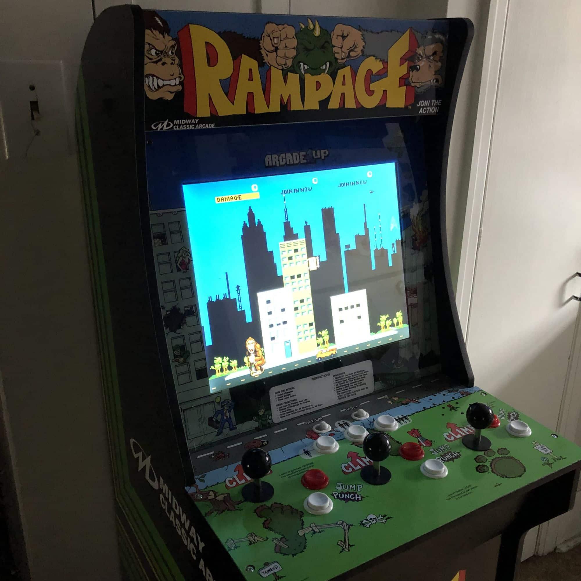Review: Arcade1Up Rampage Arcade Cabinet