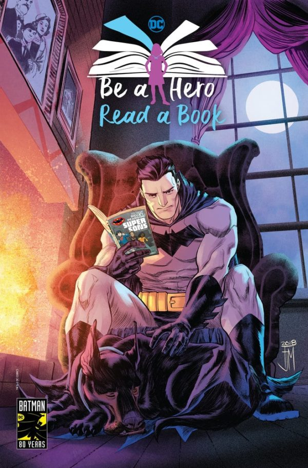 """DC Comics to Library Patrons: """"Read a Book"""""""