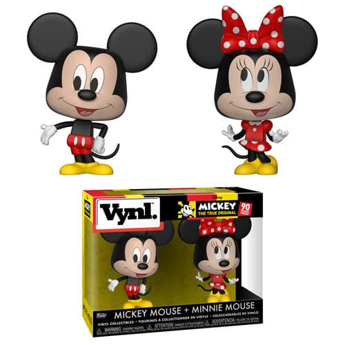 Funko Disney Vynl Mickey and Minnie