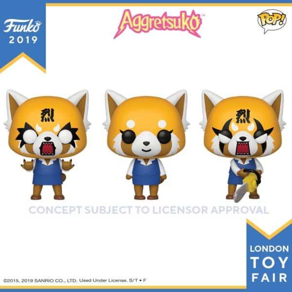 Funko London Toy Fair Aggretsujo 1