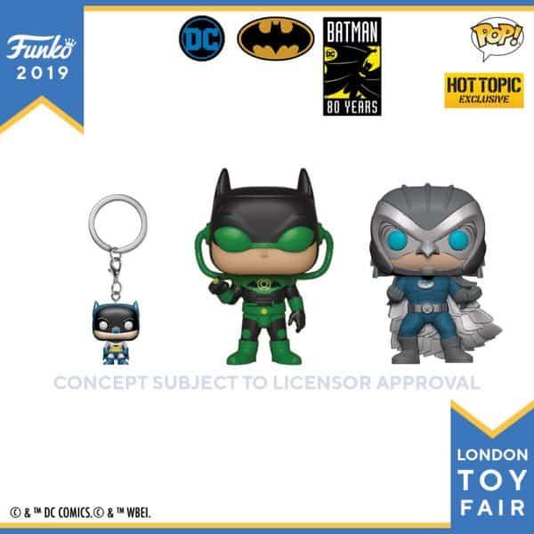 Funko London Toy Fair Batman 80th 2