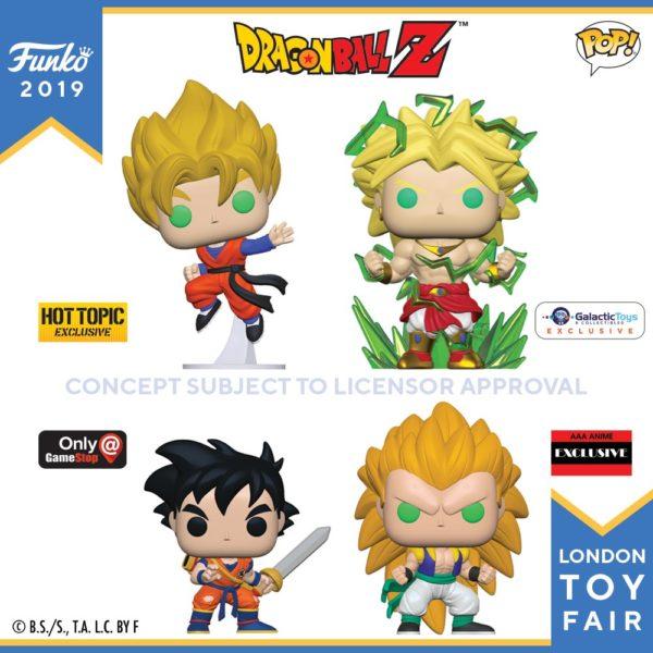 Funko London Toy Fair Dragon Ball Z 2