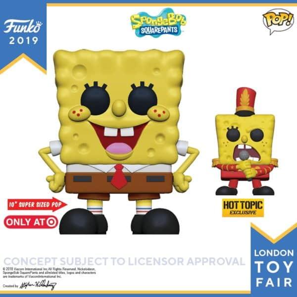 Funko London Toy Fair Spongebob 2