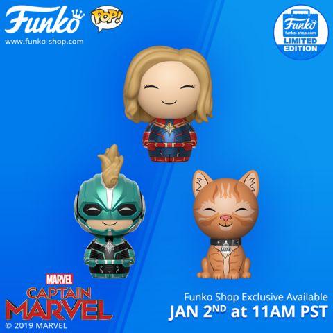 Funko Marvel Captain Marvel Dorbz Pack