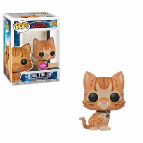 Funko Marvel Captain Marvel Flocked Goose Pop