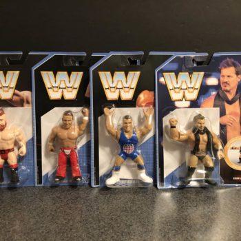 Mattel WWE Retro Figures 1
