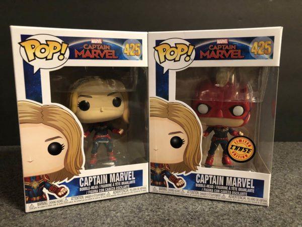 Captain Marvel Funko Pop 1