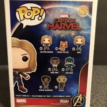 Captain Marvel Funko Pop 2