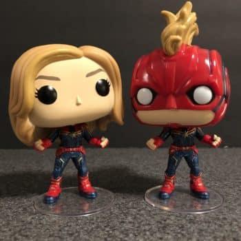 Captain Marvel Funko Pop 8