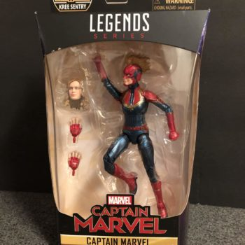Marvel Legends Captain Marvel Figure 1