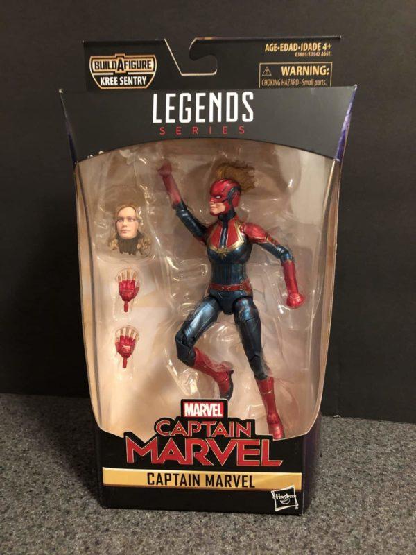 Marvel Legends Captain Marvel Figure 1