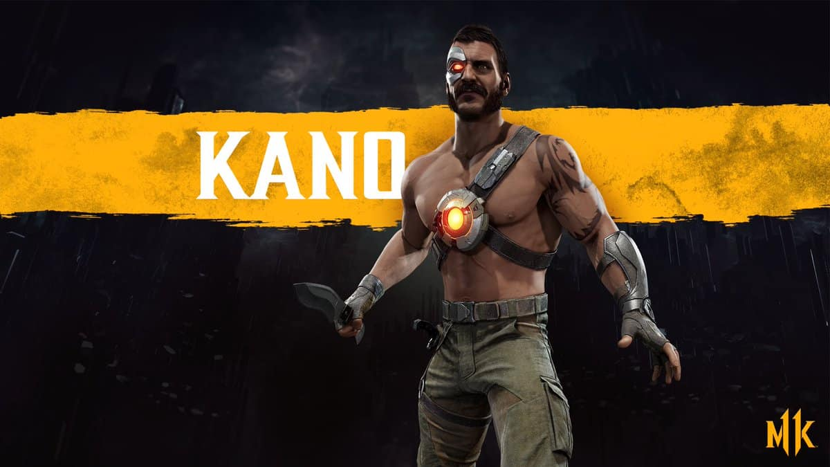 Kano Officially Revealed for Mortal Kombat 11
