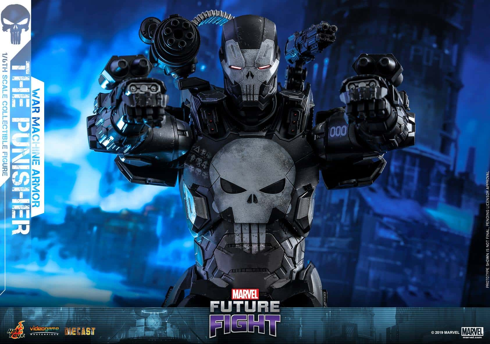 Marvel Future Fight War Machine Punisher 1