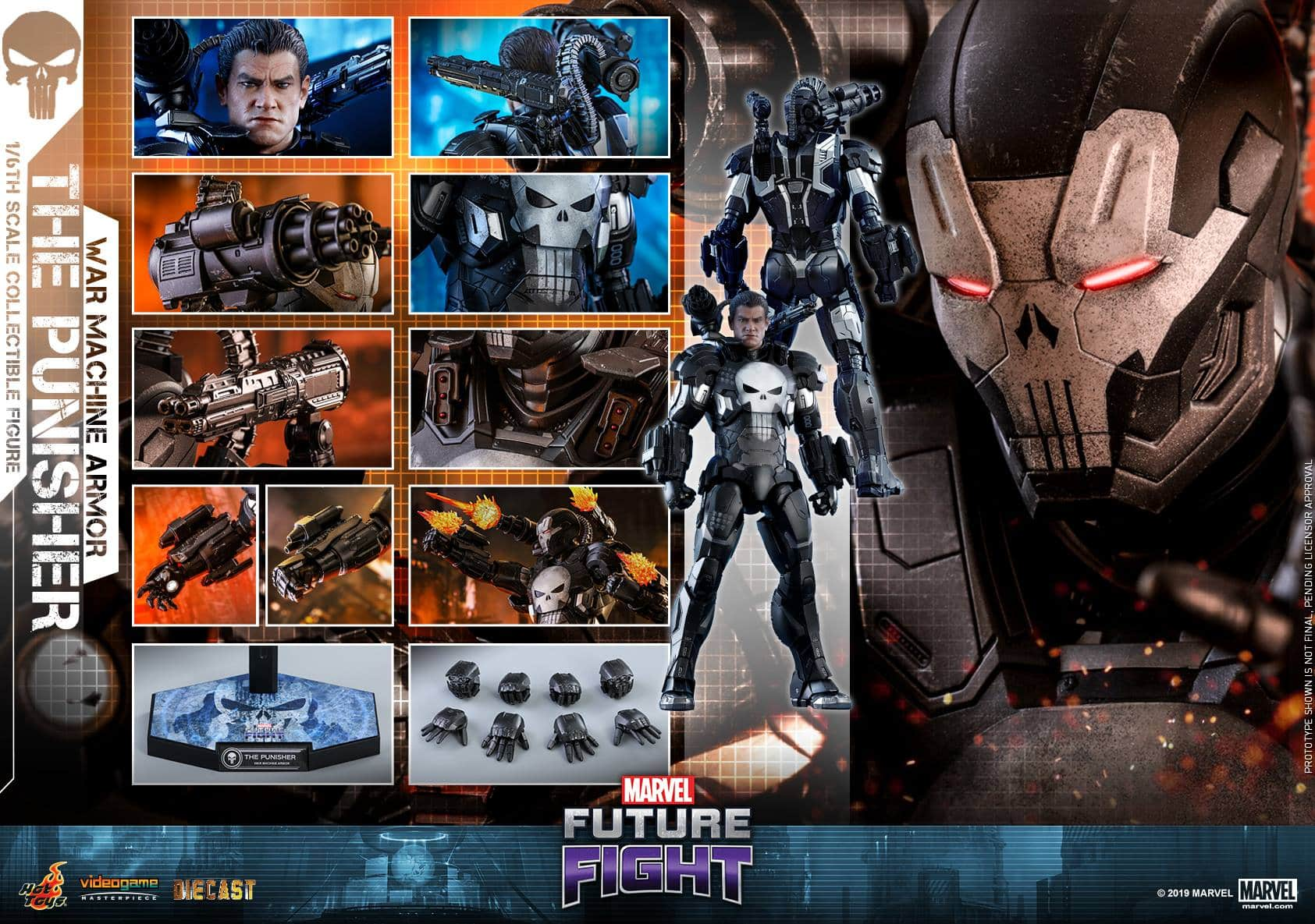 Marvel Future Fight War Machine Punisher 14