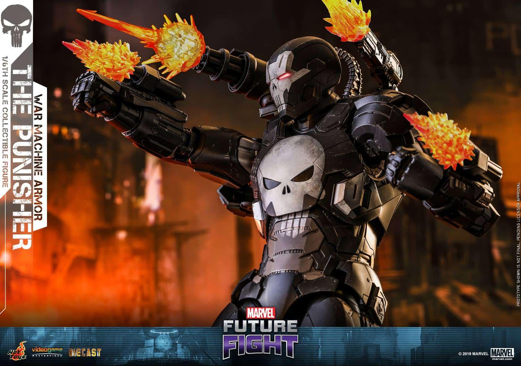 Marvel Future Fight War Machine Punisher 3