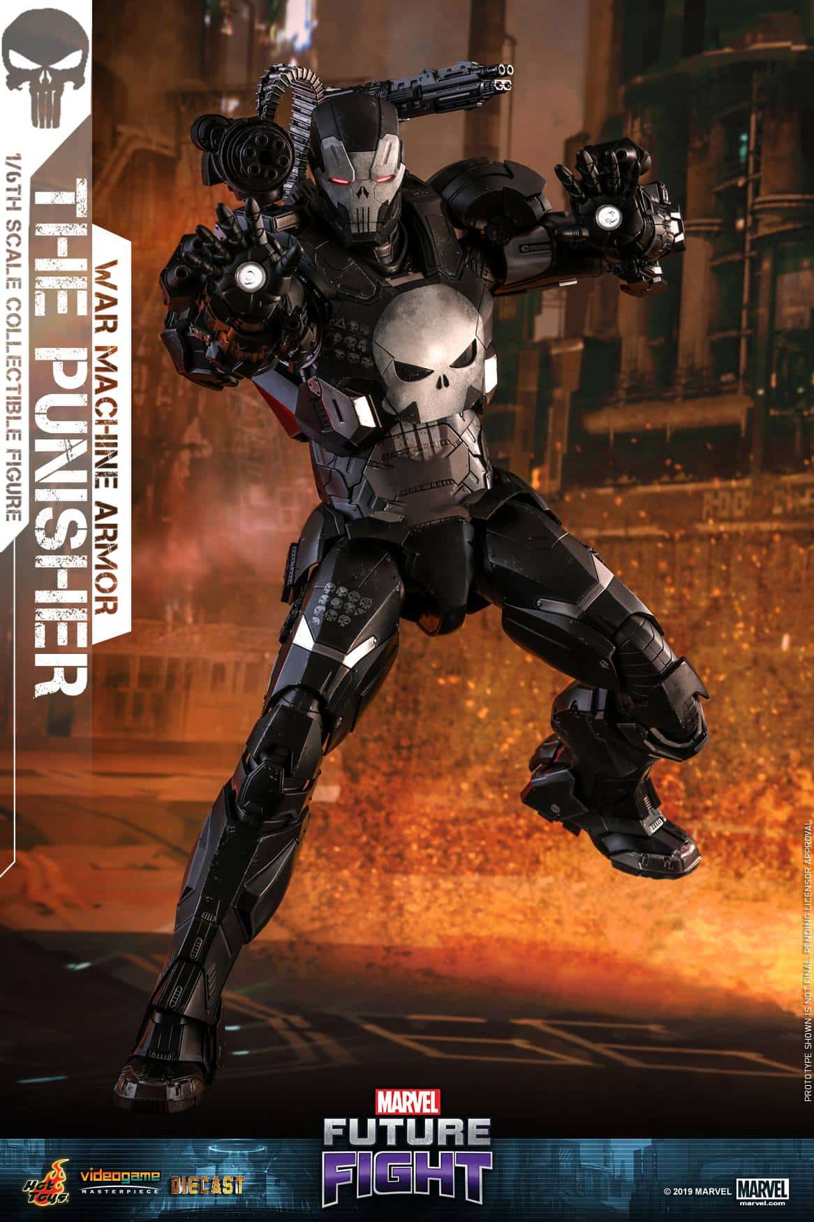 Marvel Future Fight War Machine Punisher 5
