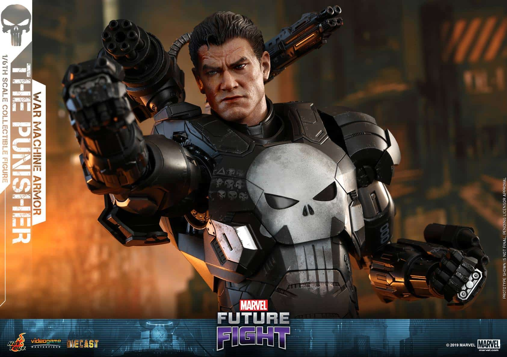 Marvel Future Fight War Machine Punisher 6