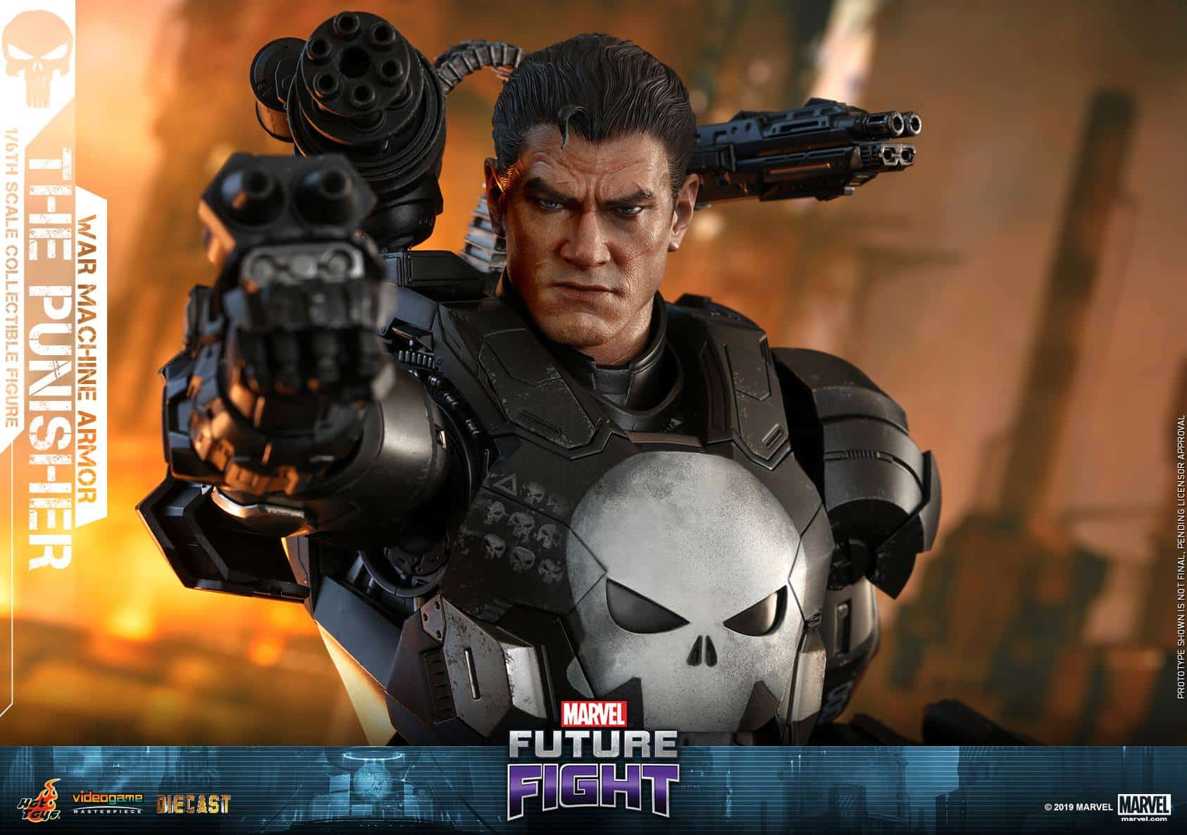 Marvel Future Fight War Machine Punisher 8