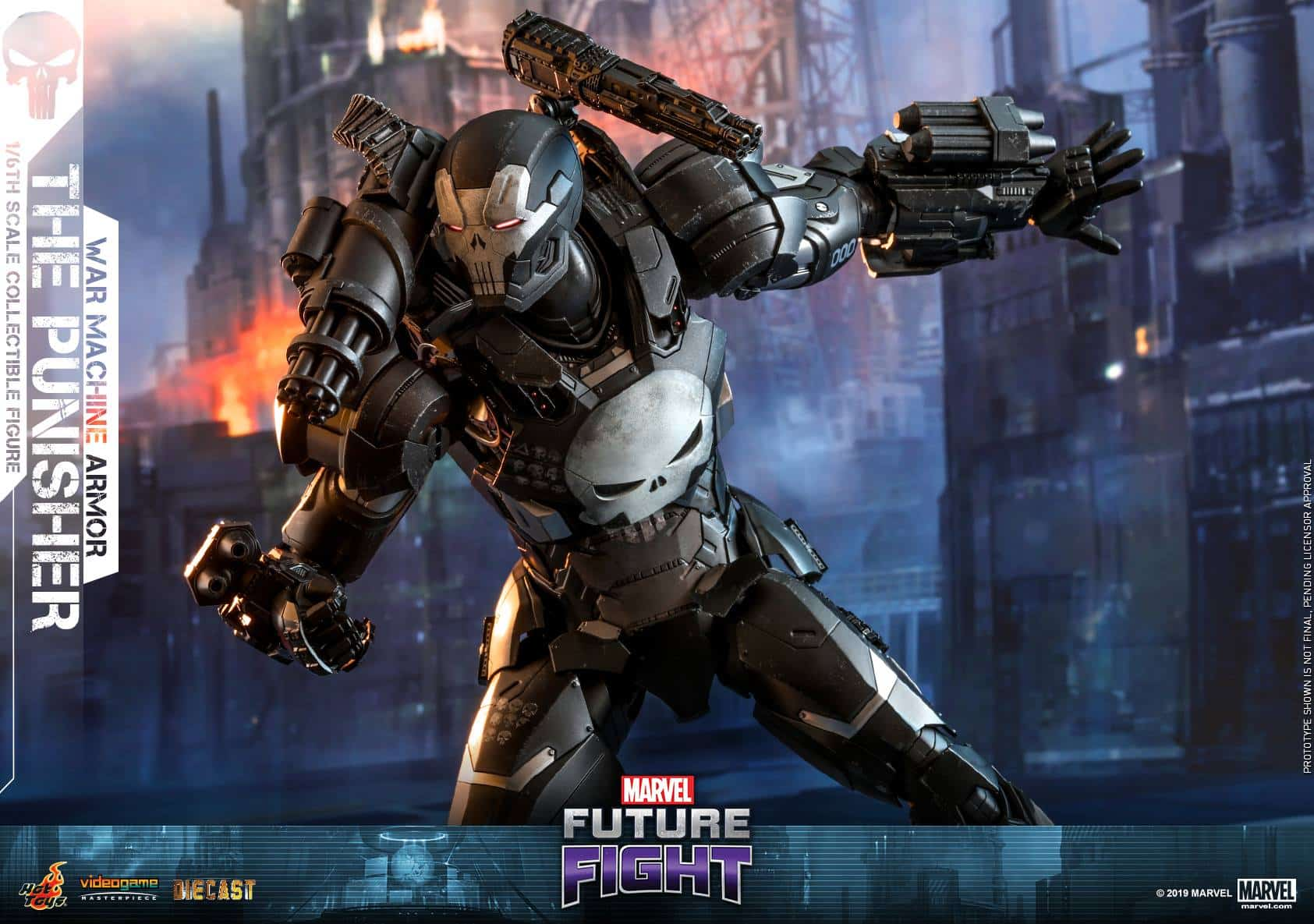 Marvel Future Fight War Machine Punisher 9