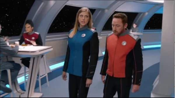 "The Orville Adrianne Palicki and Scott Grimes ""Nothing Left on Earth Except Fishes"""