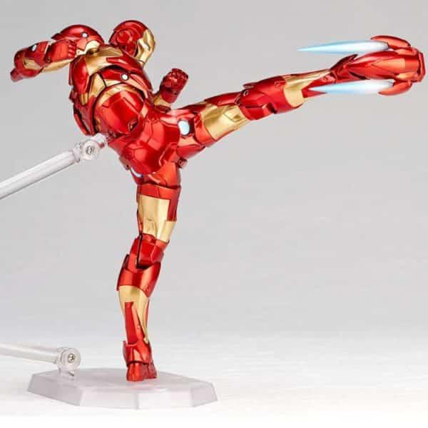 Revoltech Iron Man Figure 5