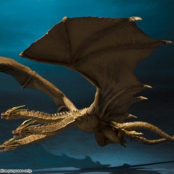 SH MonsterArts Godzilla King Ghidorah 4