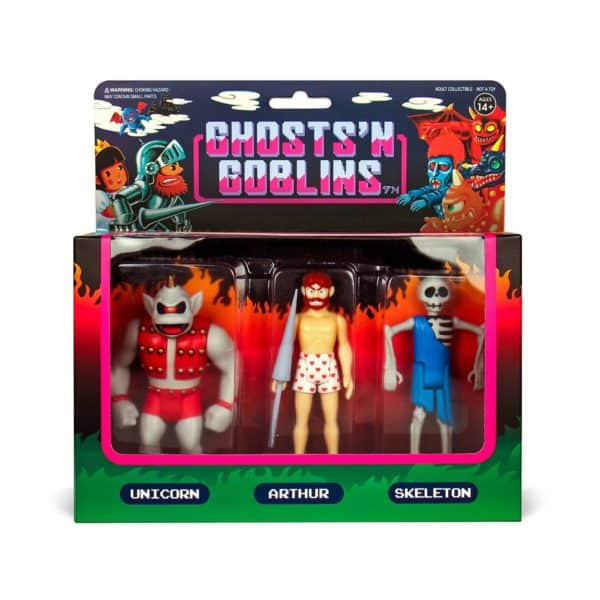 Super7 Ghosts and Goblins Set 2