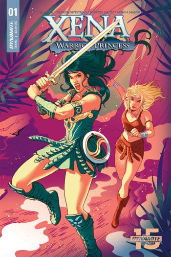 Vita Ayala Launches New Xena Warrior Princess Comic With Olympia