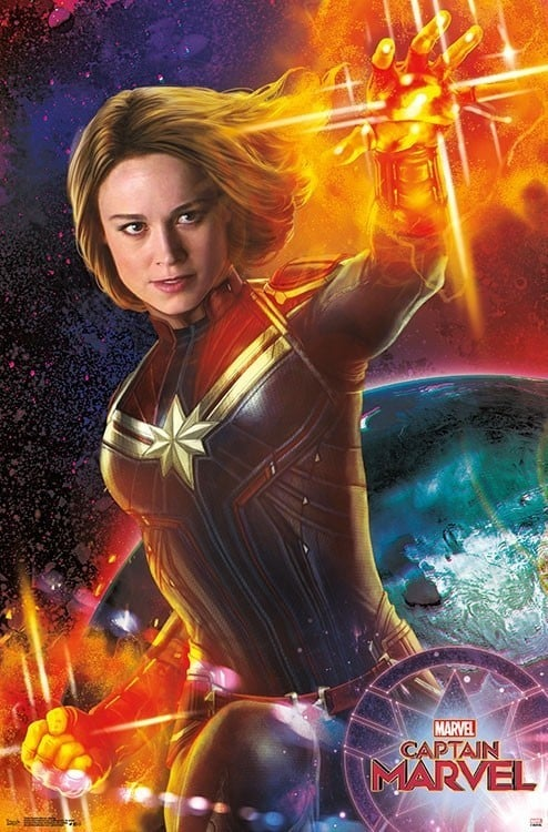 Goose Gets His Own Captain Marvel Poster