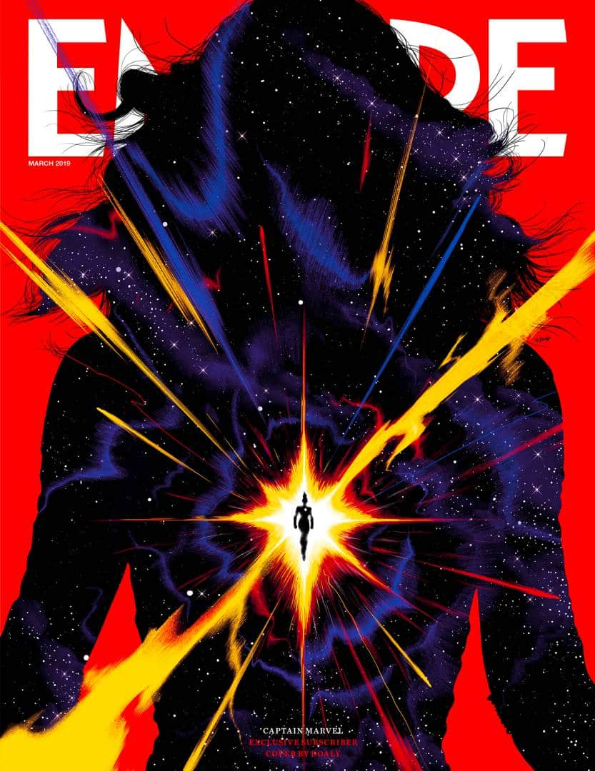 The Captain Marvel Empire Subscriber Cover is Gorgeous