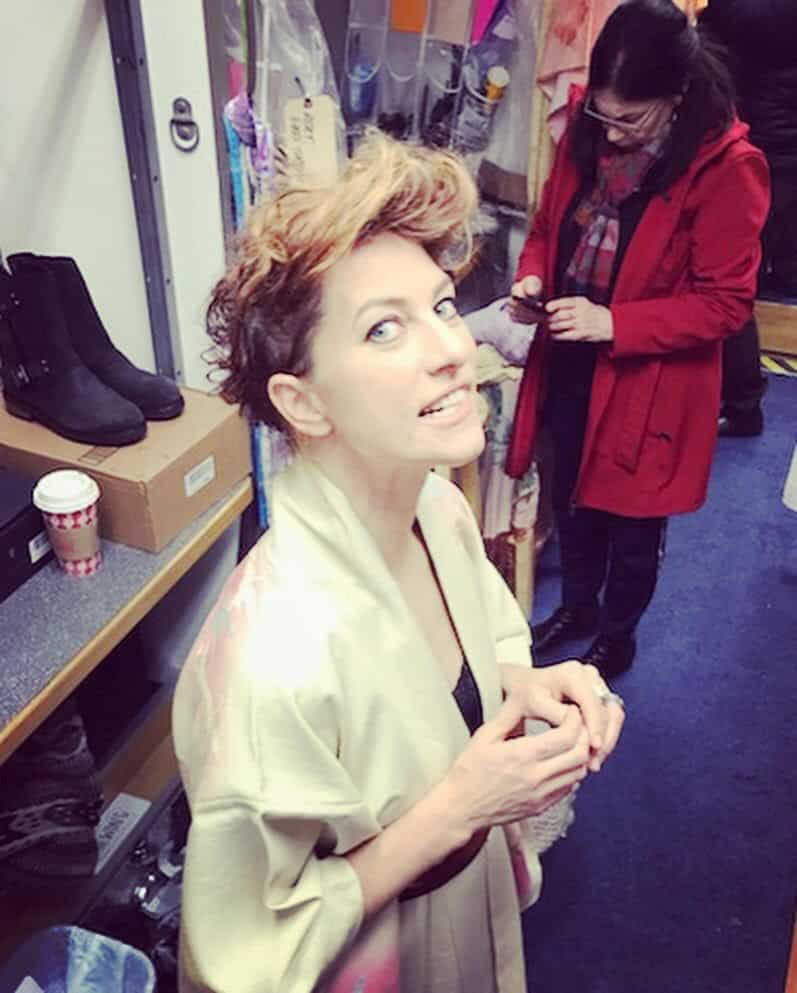 Amanda Palmer Images talking to amanda palmer from the set of syfy's happy season two