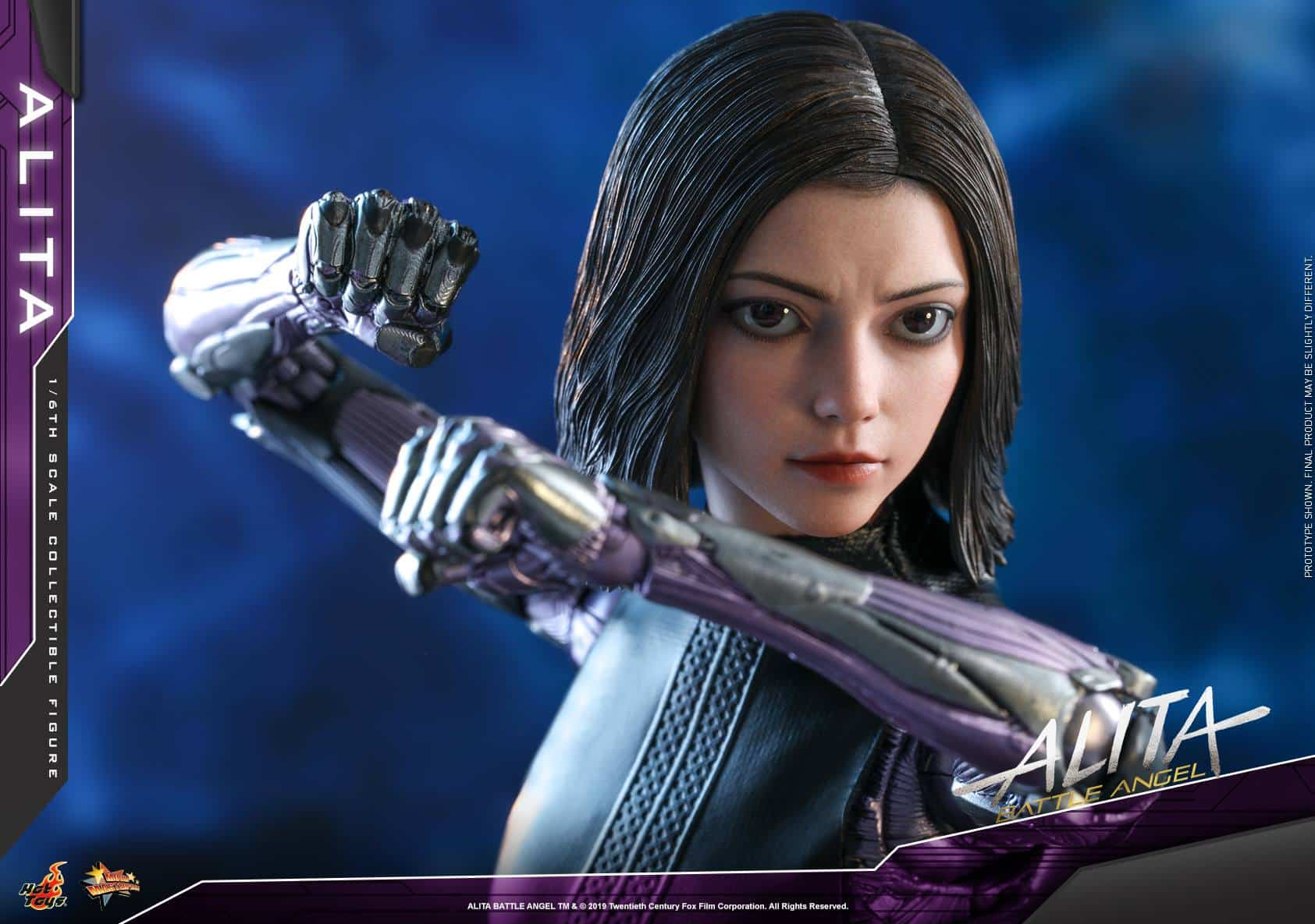 Angelfist alita: battle angel gets her very own hot toys release next