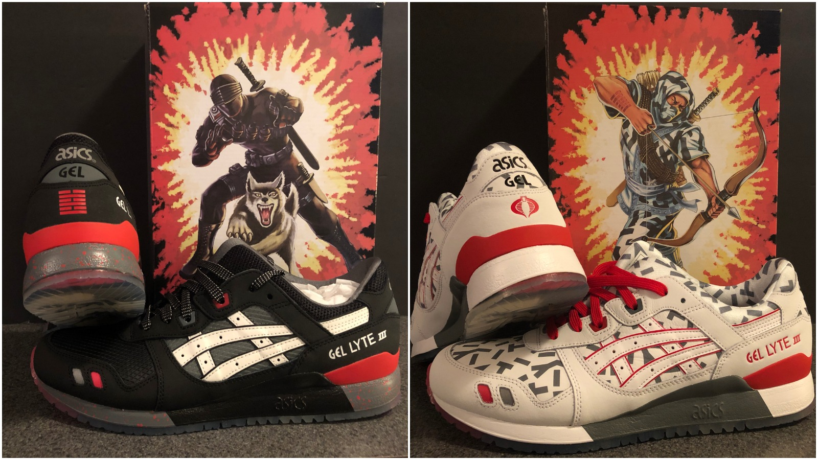 3e4e8e7ea2774 Hasbro and Asics Pair Up For New G.I. Joe Shoe Line, Available at Foot  Locker Now