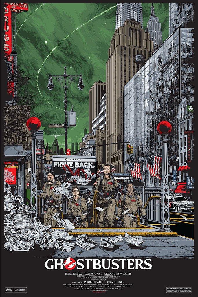 Ghostbusters Mondo Poster Ken Taylor 2