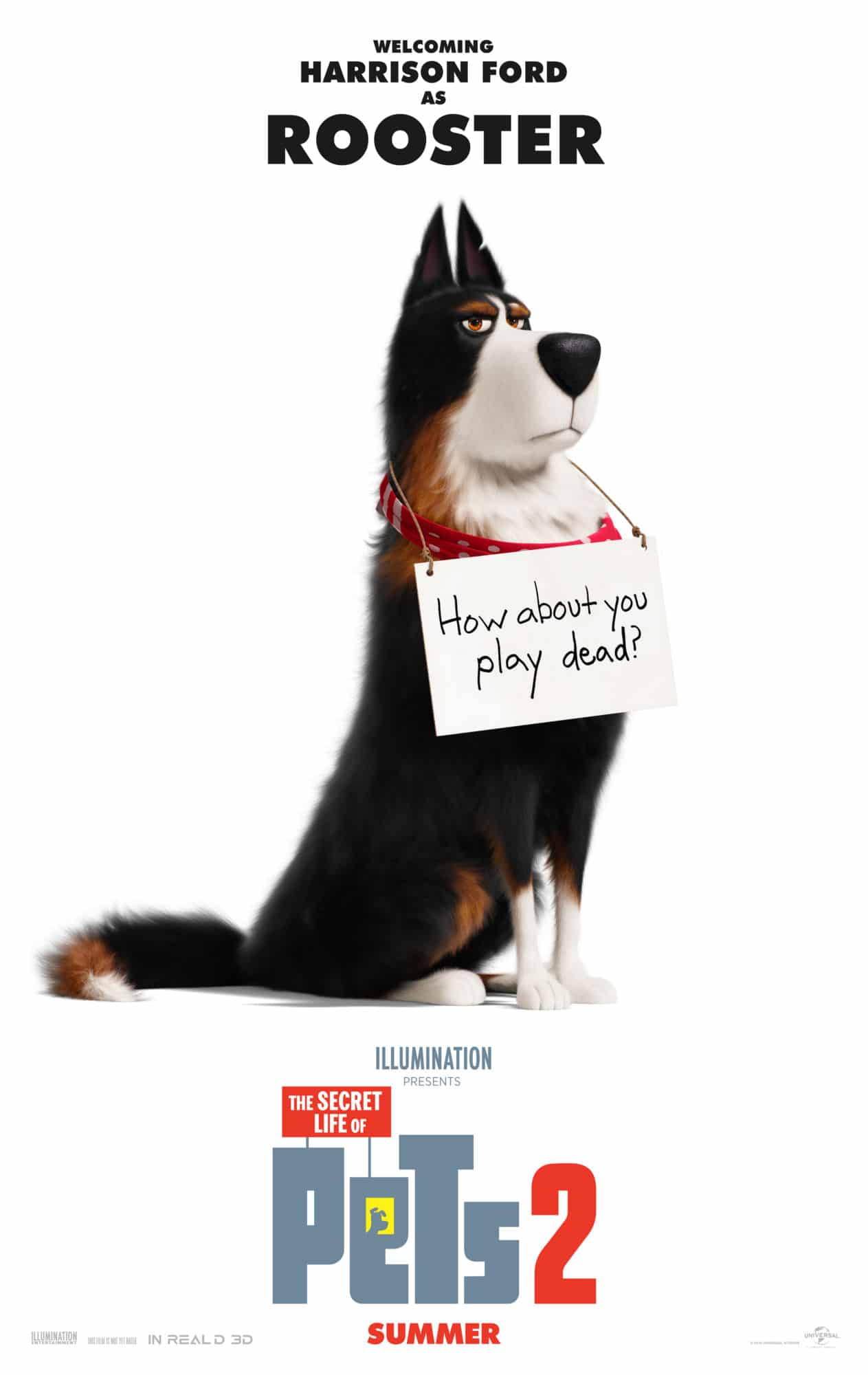 Meet Harrison Ford as Rooster in This New the Secret Life of Pets 2