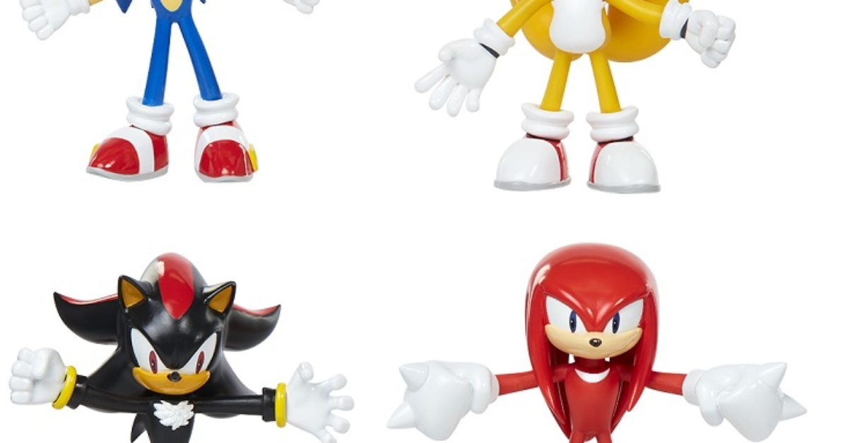 Sega And Jakks Pacific Enter New Deal For Sonic The Hedgehog Toys