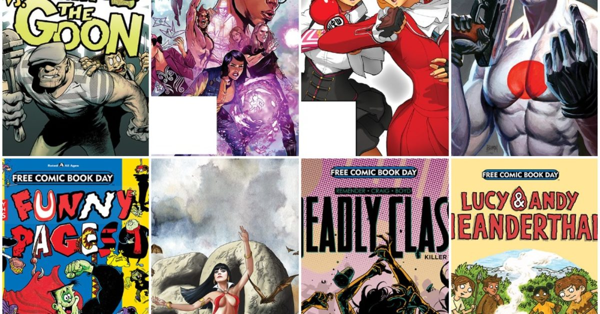 Previews Of Thirty Free Comic Book Day 2019 Titles