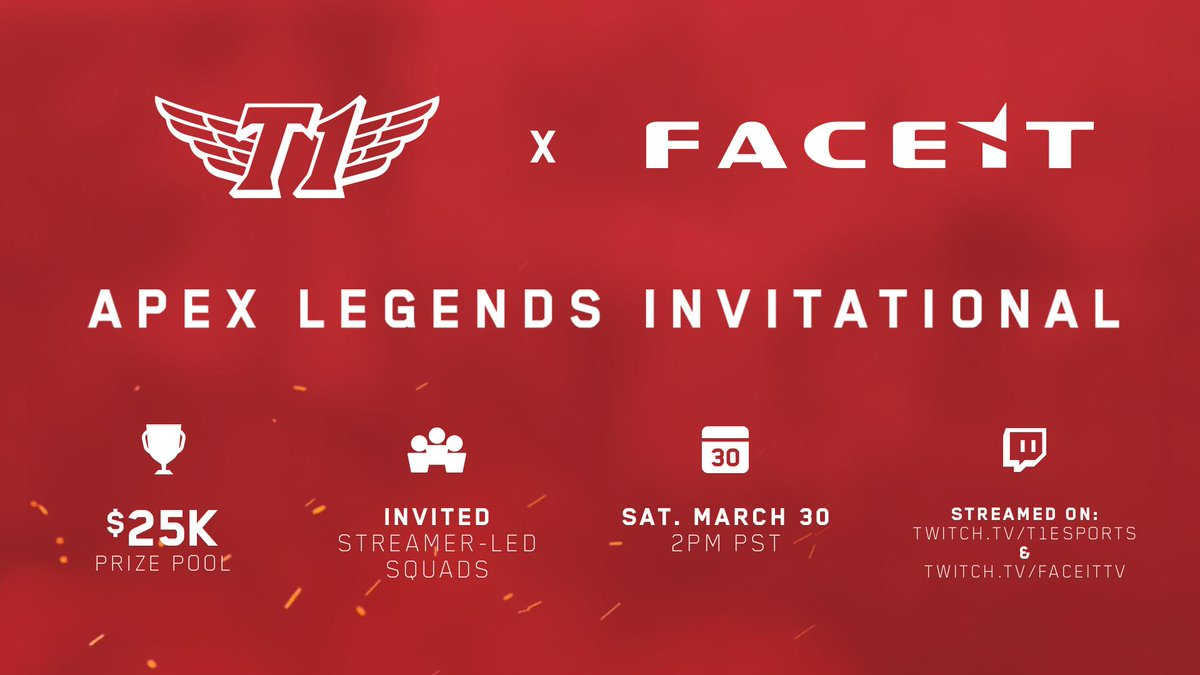 FACEIT Will Host the First Official Apex Legends Tournament