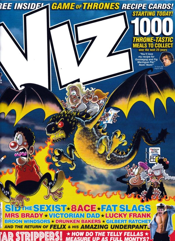 Viz Comic #284 Puts Game Of Thrones on the Cover