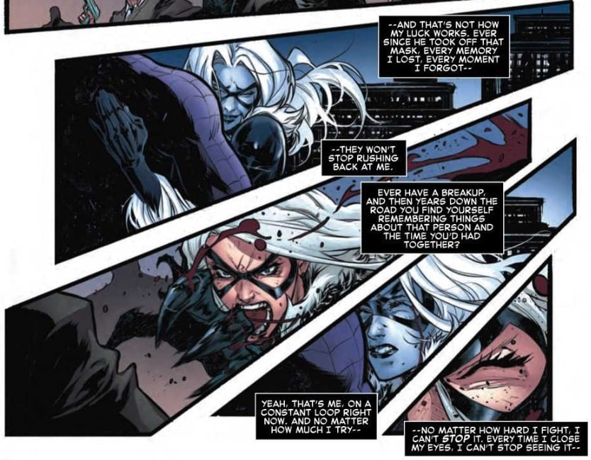 Black Cat Having Sex Dreams About Spider-Man in Next Week's