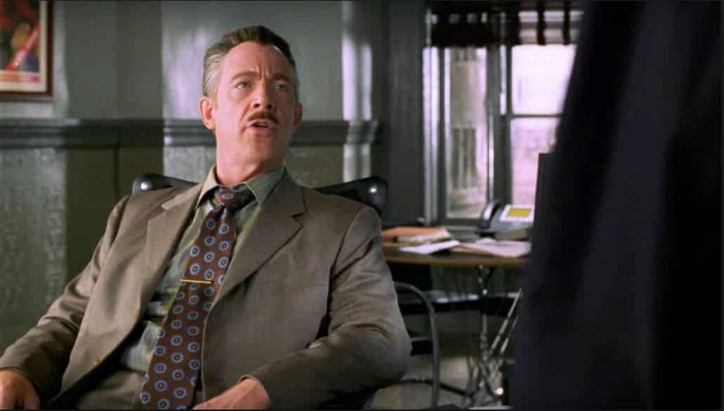 Spider-Man - JK Simmons - J Jonah Jameson
