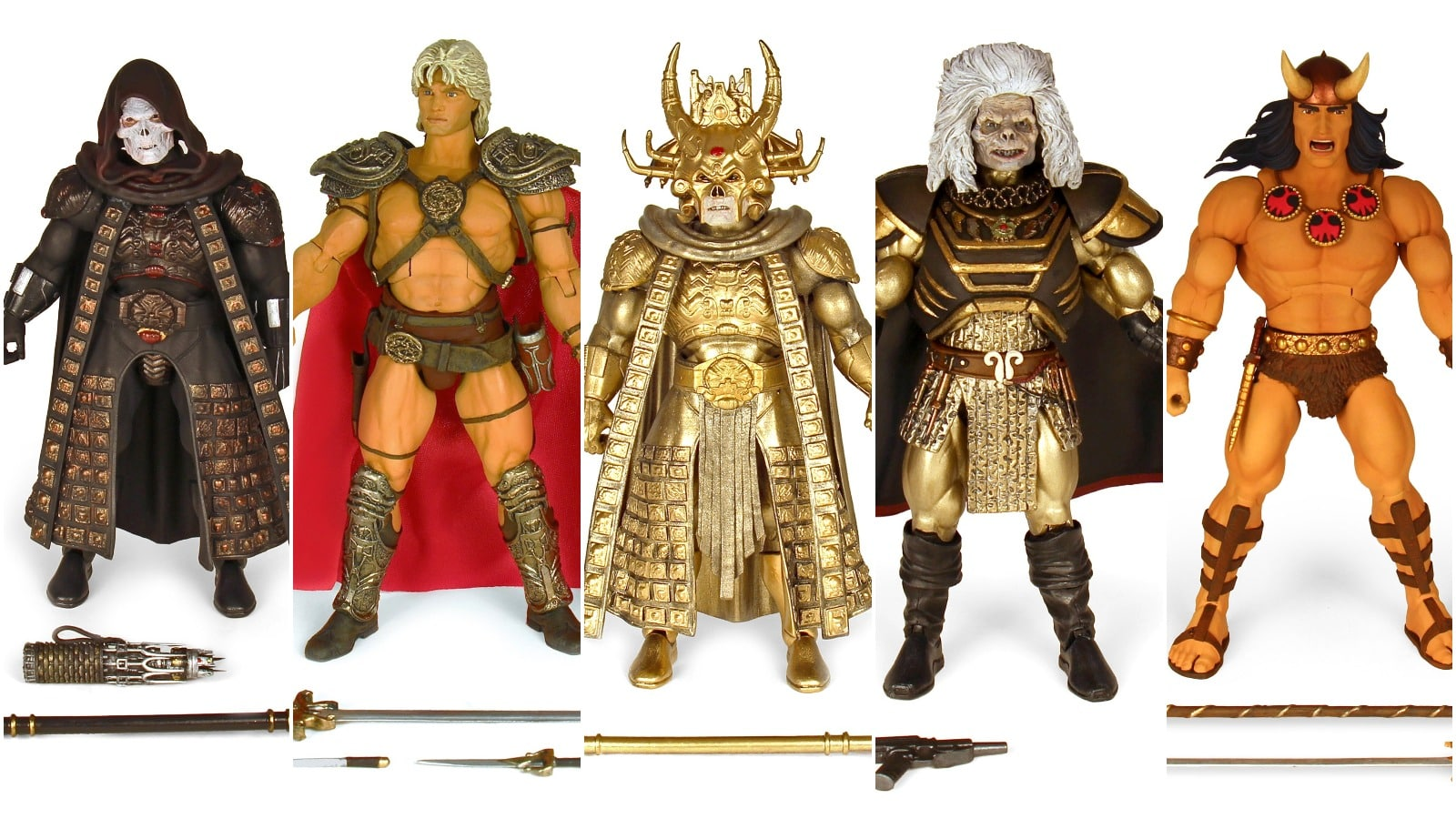 Super7 MOTU Conan Collage