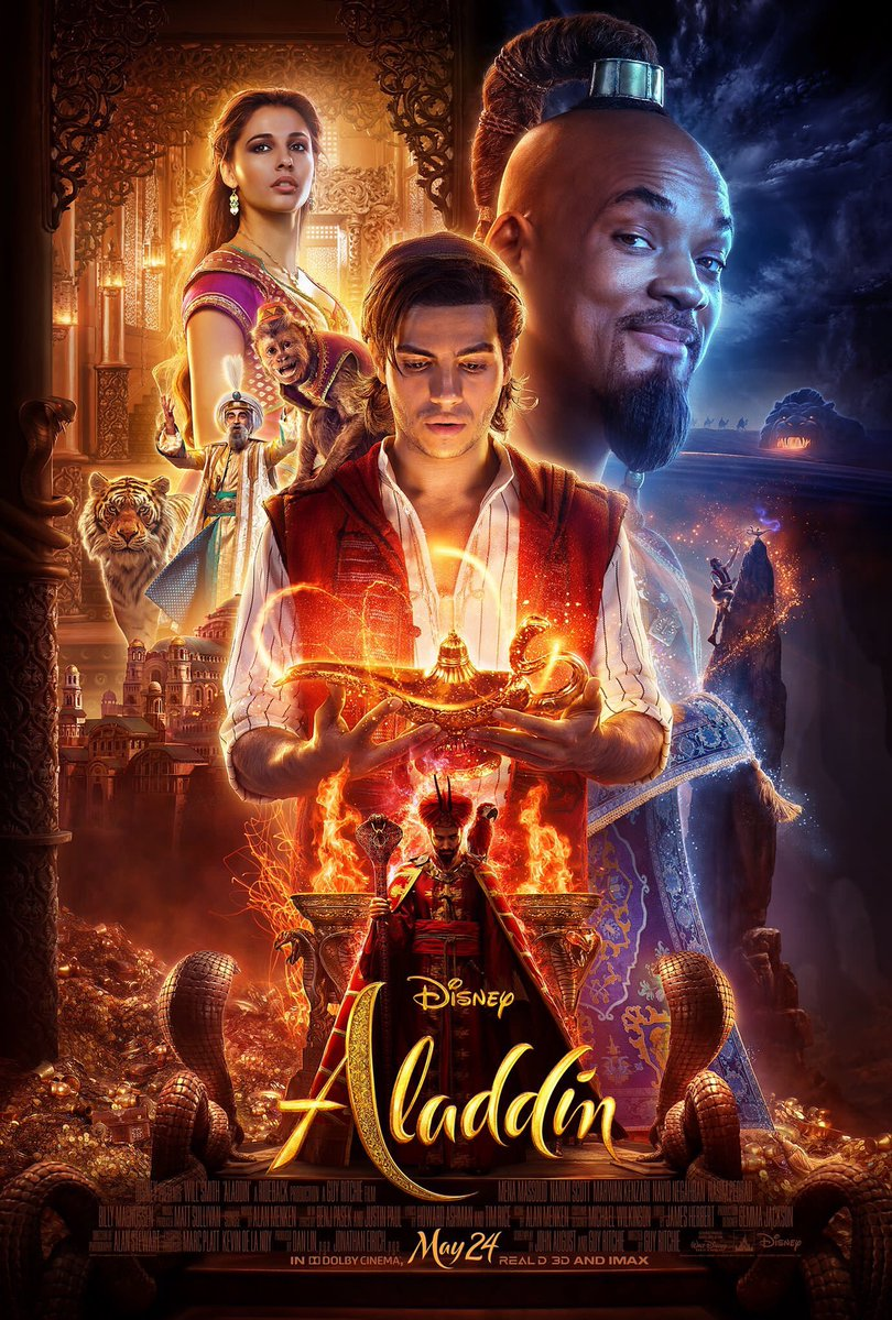 Cinemacon 2019 Disney Previews Clips From Aladdin The Lion