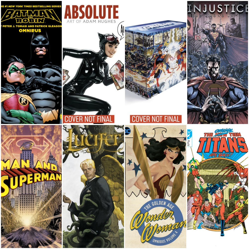 DC Omnibuses, Absolutes and Big Books For the End of 2019